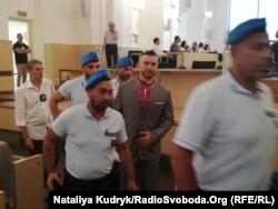 Віталій Марків у суді італійської Павії, 12 липня 2019 року