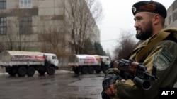Бойовик угруповання «ДНР» у Макіївці. 12 грудня 2014 року