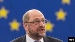 Франци -- Европарламентан куьйгалхо Шулц Мартин. 2016.