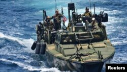Катер ВМФ США. Иллюстративное фото.