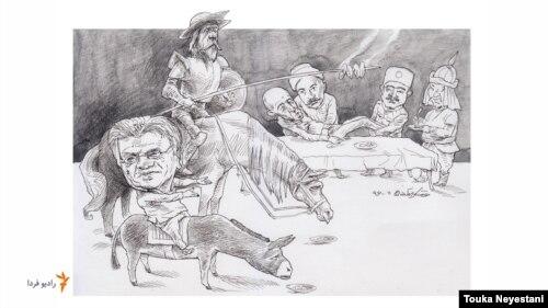 رضا علامهزاده و مهمانانش/ کاری از توکا نیستانی