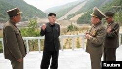 Lideri verikorean, Kim Jong-un.