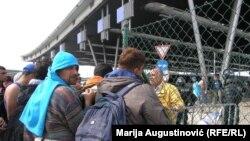 Izbjeglice na Bregani