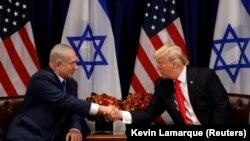 Američki predsjednik Donald Trump i izraelski premijer Benjamin Netanyahu u New Yorku, septembar 2017.