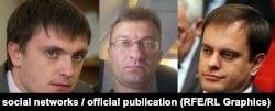 Костянтин Книрик, Максим Ніколаєнко, Вадим Волченко