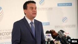 Архива: Прес конференција на министерот за транспорт и врски Горан Сугарески