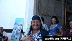 Ўзбек аёли.