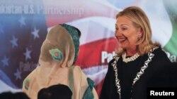Хиллари Клинтон в Исламабаде