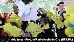 День Соборности Украины в Крыму. Вспоминаем, как это было (фотогалерея)