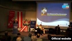 محمدرضا نعمت زاده در کنفرانس «تجارت و سرمايهگذاری ايران و اروپا» در وين
