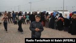 Лагерь беженцев под Мосулом.