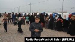 Лагерь беженцев под Мосулом