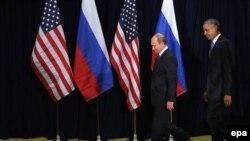 Президенти США та Росії Барак Обама та Володимир Путін (фото архівне)