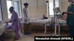 یک زایشگاه در ولایت بدخشان.