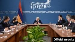 Президент Армении проводит совещание в МИД Армении, 2 марта 2015 г․