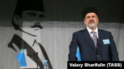 The chairman of the Mejlis, Refat Chubarov, told journalists that the Crimean Tatar council and other related bodies would move their operations to Kyiv.