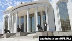 Здание центральной библиотеки, Ашхабад