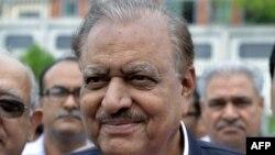 Presidenti i Pakistanit, Mamnoon Hussain.