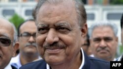 Pakistan's new president, Mamnoon Hussain (file photo)