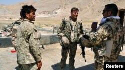 Гашти муштараки нерӯҳои НАТО ва полис афғон