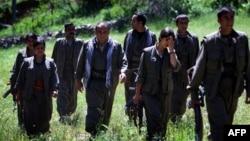 Ирандағы Күрдістан еркін өмір партиясының жасақтары (Көрнекі сурет).
