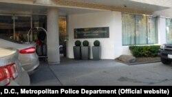 Dupont hotel u Vašingtonu u kojem je Lesin pronađen mrtav.