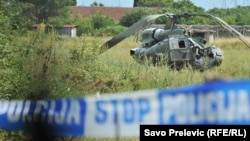 Pad helikoptera Vojske Crne Gore, 10. juni 2016.