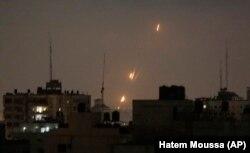 Палестинські бойовики обстрілюють Ізраїль ракетами зі Смуги Гази