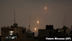 Ракетні удари зі Смуги Гази по Ізраїлю