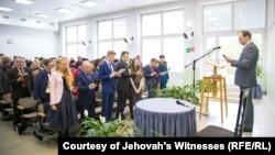 Представители общины «Свидетелей Иеговы».