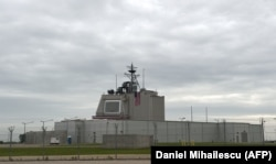 The U.S. anti-missile station Aegis Ashore is pictured at a military base in Deveselu, Romania (file photo)