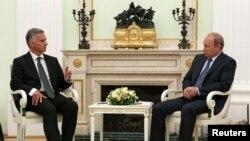 Didier Bhurkalter dhe Vladimir Putin