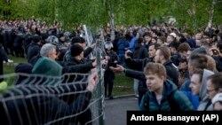 Акция протеста в Екатеринбурге
