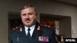 Командувач Національної гвардії України, генерал-лейтенант Юрій Аллеров, Сакраменто, Каліфорнія, 12 листопада 2016 року