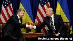 Сустрэча прэзыдэнтаў Украіны і ЗША, Нью-Ёрк, 21 верасьня 2017
