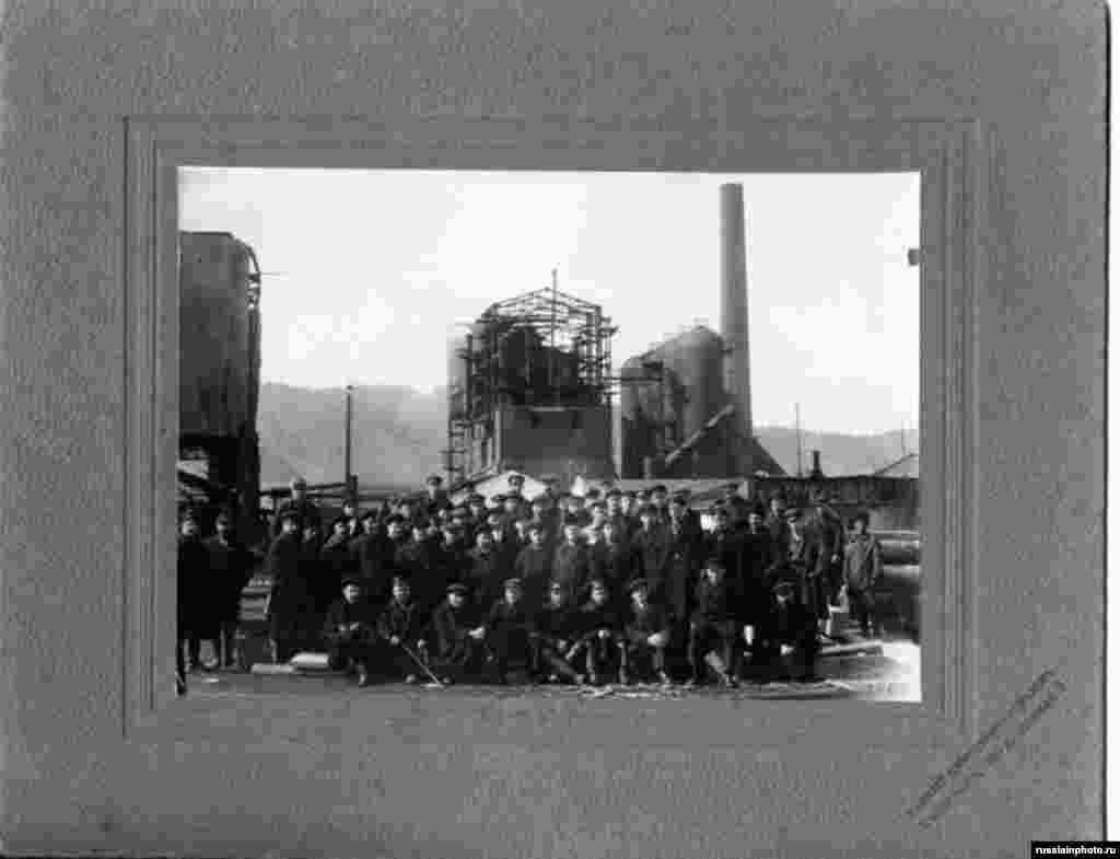Железнодорожники, Башкортостан, 1910