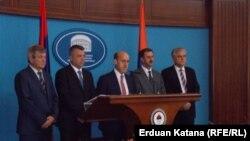 Bošnjački predstavnici u RS na konferenciji za medije povodom referenduma
