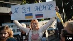 Demonstracije za mir Ukrajinaca u Grčkoj