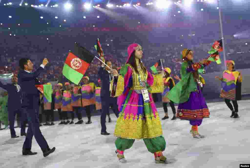 Спортсмены из Афганистана