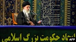 "Iran's Supreme Leader Ayatollah Ali Khamenei called the deal reached in Geneva ""the basis"" for further progress."