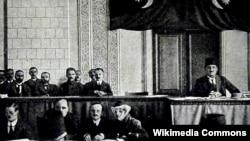 Parlamentin iclası -1918-ci il