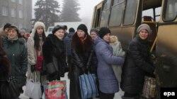 Евакуація людей з Дебальцева, 30 січня