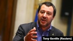 Ministri i Brendshëm i Italisë, Matteo Salvini.