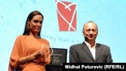 Angelina Jolie dobila je nagradu Srce Sarajeva