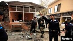Pamje nga sulmi në Gjykatën e Qarkut në Islamabad
