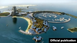 Real Madrid Resort Island proyekti