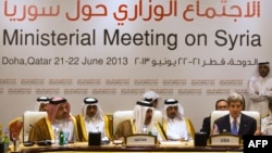 Під час засідання «друзів Сирії», Доха, 22 червня 2013 року