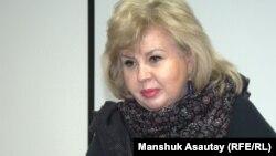 «Ұлағатты жанұя» қоғамдық қорының президенті Марианна Гурина. Алматы, 30 қаңтар 2015 жыл.