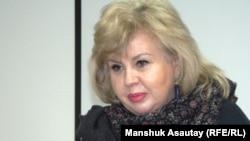 """Марианна Гурина, президент фонда """"Улагатты жануя"""". Алматы, 30 января 2015 года."""
