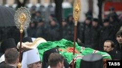 Під час поховання Патріарха РПЦ Алексія ІІ, 9 грудня 2008 р.